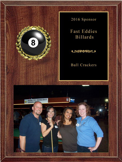 billiards sponsor plaque awardsmart san antonio tx awards